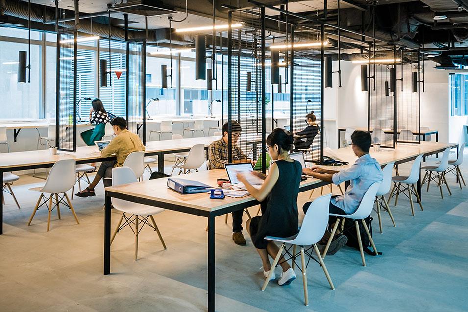 Văn phòng chia sẽ Coworking Space – nguồn ảnh: gorillaspace.co
